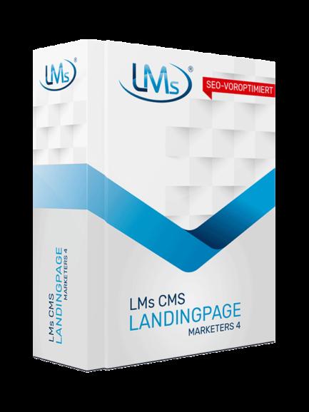 LMs CMS Landingpage Marketers 4 - Software zum Erstellen von Landingpages