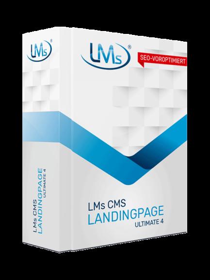 LMs CMS Landingpage Ultimate 4 - Software zum Erstellen von Landingpages