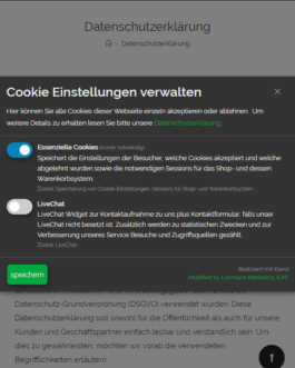Cookie Consent Plugin